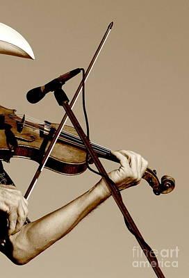 The Fiddler Art Print by Robert Frederick