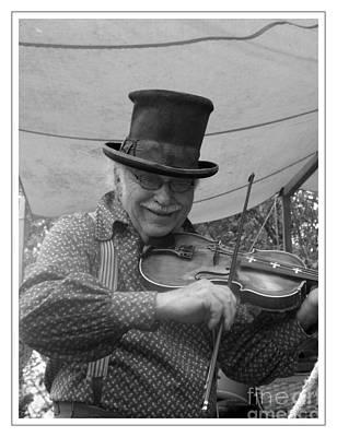 The Fiddler Art Print by Sara  Raber