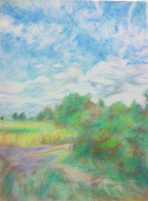 The Field Art Print by Kim Cyprian