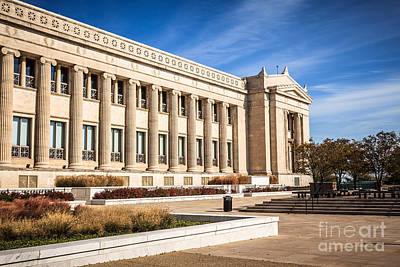 The Field Museum In Chicago Print by Paul Velgos