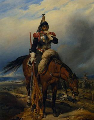 The Field Of Battle Art Print by Paul  Delaroche
