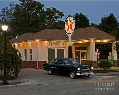 Photograph - The Filling Station by Dennis Hedberg
