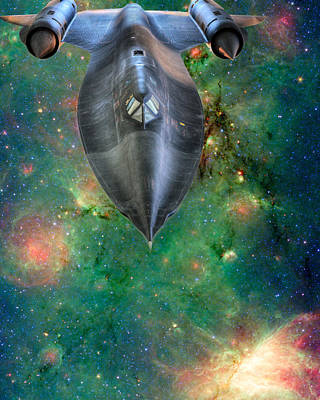 The Final Frontier Art Print by JC Findley