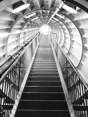 Flight Of Stairs Photograph - The Final Frontier  by Laura Hol