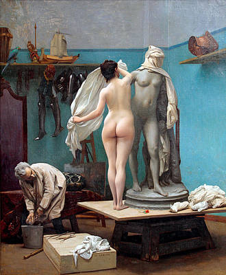 Jean-leon Gerome Painting - The Final Session by Jean-Leon Gerome