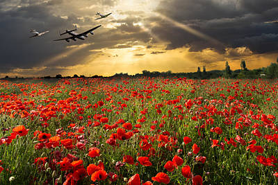 Photograph - The Final Sortie by Gary Eason