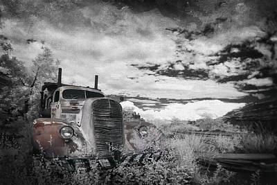 Old Trucks Photograph - The Final Stop by Sean Foster