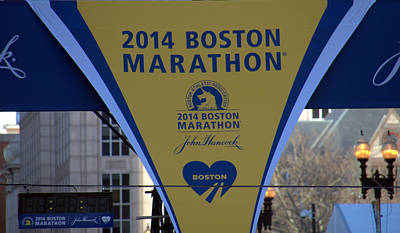 Photograph - The Finish Line Boston by Caroline Stella