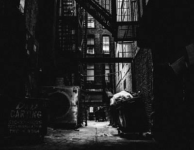 Photograph - The Fire Escape Point by Richard Cline