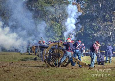 Photograph - The Fire Of The Cannons by Kathy Baccari