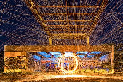 The Fireball Art Print by Arthit Somsakul