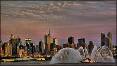The Fireboat Art Print