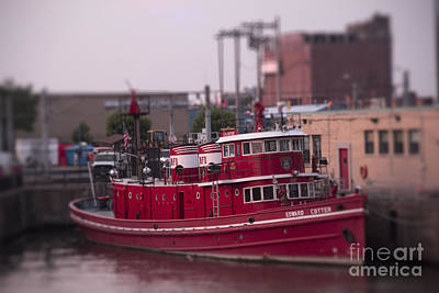 Cotter Photograph - The Fireboat The Cotter by Jim Lepard