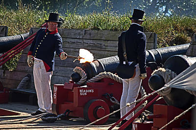 Photograph - The Firing Of Beason's Son by Bill Swartwout