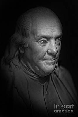 The First American - Benjamin Franklin Art Print by Lee Dos Santos