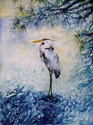Painting - The First Frost by Zaira Dzhaubaeva