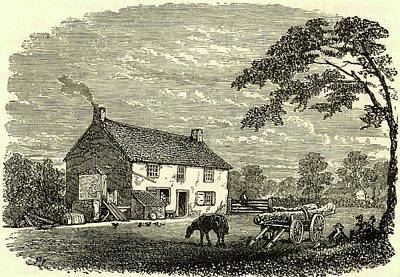 1848 Photograph - The First House Of George Stephenson by Universal History Archive/uig