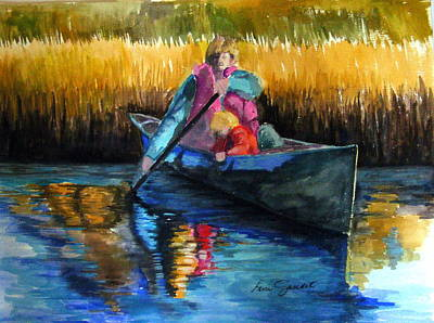 Painting - The First Mate by Lenore Gaudet