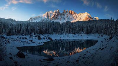 Tyrol Wall Art - Photograph - The First Morning 3. by Juan Pablo De