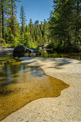 Yosemite National Park Photograph - The First Pool. by Wasim Muklashy