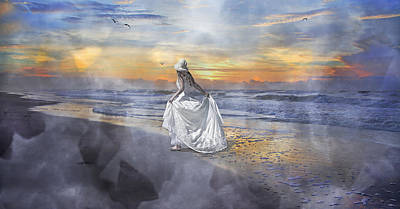 The First Sunrise Art Print by Betsy Knapp