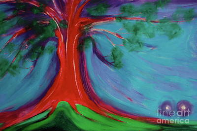 Painting - The First Tree By Jrr by First Star Art