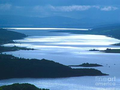 Photograph - The Firth Of Clyde by Joan-Violet Stretch