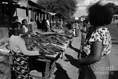 The Fish Market Art Print by Aidan Moran