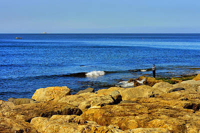 Angling Photograph - The Fisherman And The Sea by Marco Oliveira