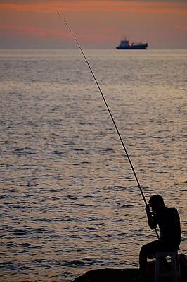 Photograph - The Fisherman by Blair Wainman