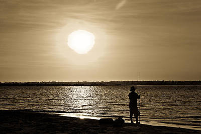 Photograph - The Fisherman by Denis Lemay