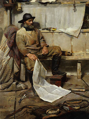 The Fisherman Print by Frank Richards