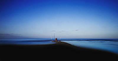 Denia Photograph - The Fisherman by Herbert Seiffert