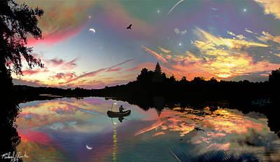 The Fisherman Original by Michael Rucker