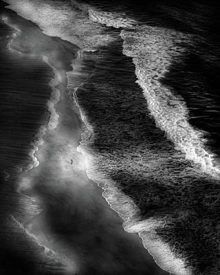 Seaside Photograph - The Fisherman by Olavo Azevedo