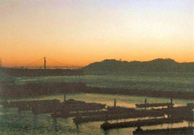 Digital Art - The Fishermans Wharf View From Pier 39 In Sf Paint by Asbjorn Lonvig