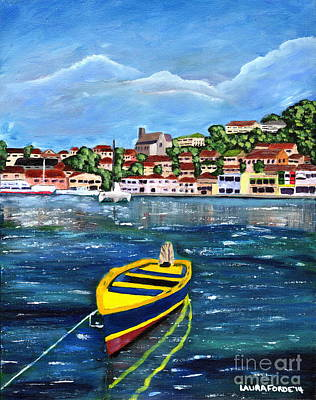 Painting - The Fishing Boat  by Laura Forde