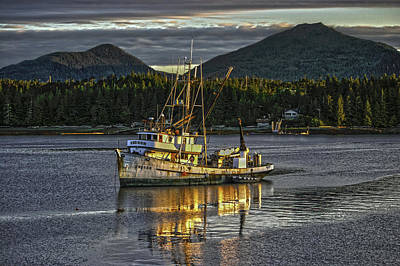 The Fishing Boat8 Art Print