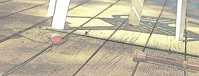 On Deck Digital Art - The Fishing Pole  by Rosemarie E Seppala