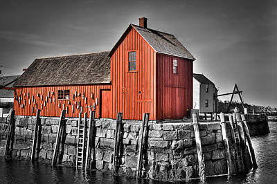 The Fishing Shack Art Print