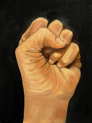 Painting - The Fist by Barbara J Blaisdell