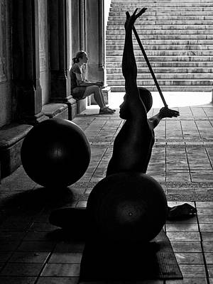 Photograph - The Fitness Guru by Cornelis Verwaal
