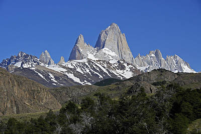 Photograph - The Fitz Roy Range by Michele Burgess