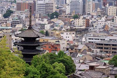 The Five-tiered Pagoda Of To-ji Art Print