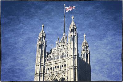 The Flag Flies Art Print