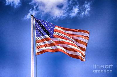 Photograph - The Flag Of Usa by Nicola Fiscarelli
