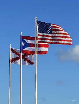 Photograph - The Flags Of El Morro by Shanna Hyatt