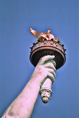 Photograph - The Flame Of Liberty by Allen Beatty