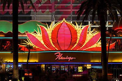 Flamingo Hotel Wall Art - Photograph - The Flamingo Hotel And Casino Las Vegas by Clint Buhler