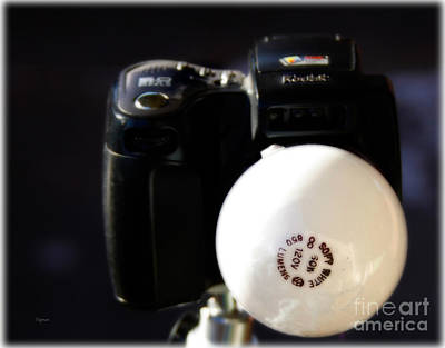 Humor Photograph - The Flashbulb by Steven  Digman